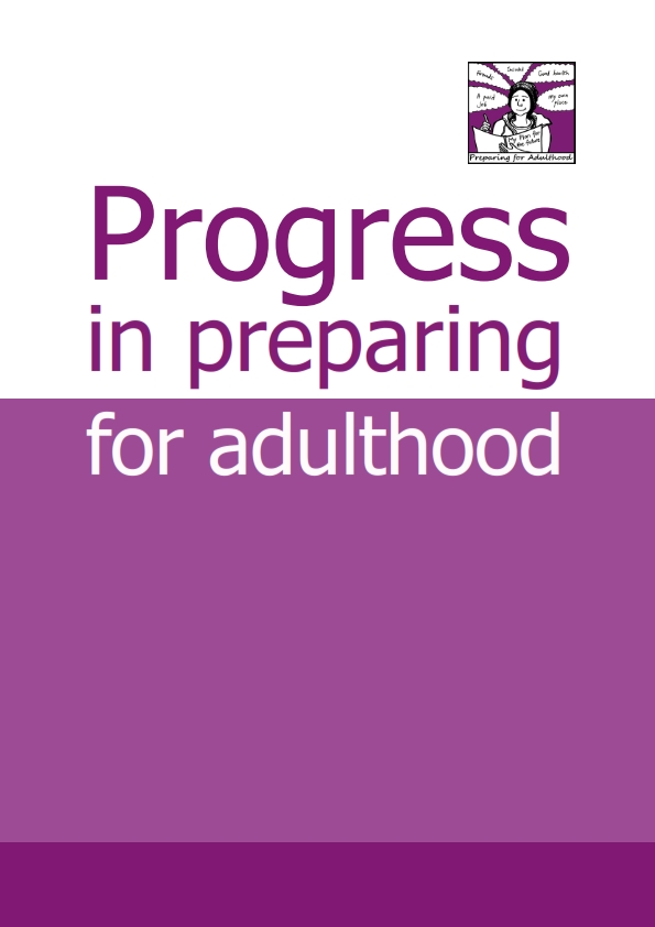 ProgressforPreparingforAdulthoodwithcover_001